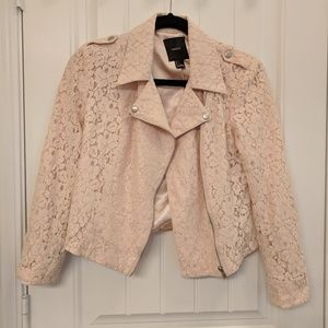 Forever21 Blush lace jacket